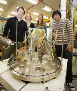 Kaitlin Cook and colleagues at ANU's Heavy Ion Accelerator