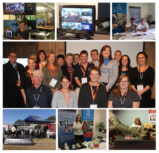Virtual Excursions Australia's activities during 2013